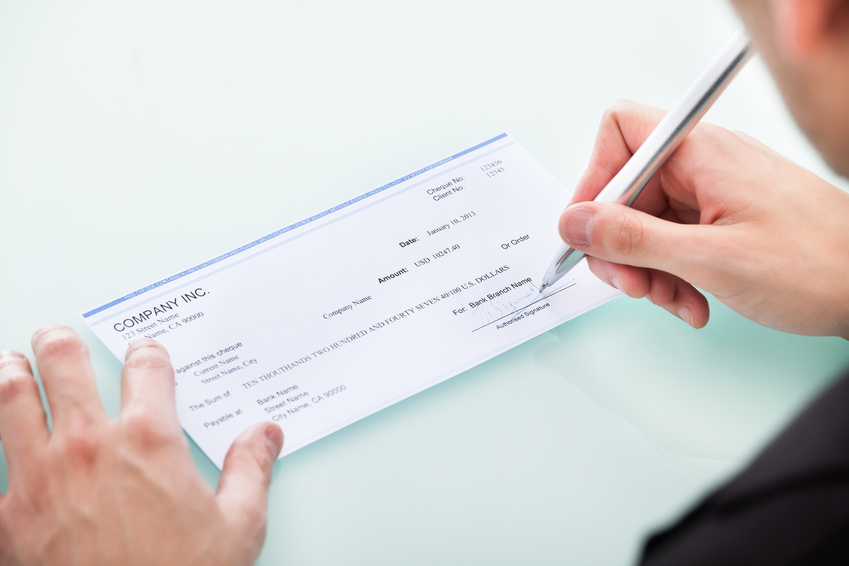how to write a void cheque for direct deposit